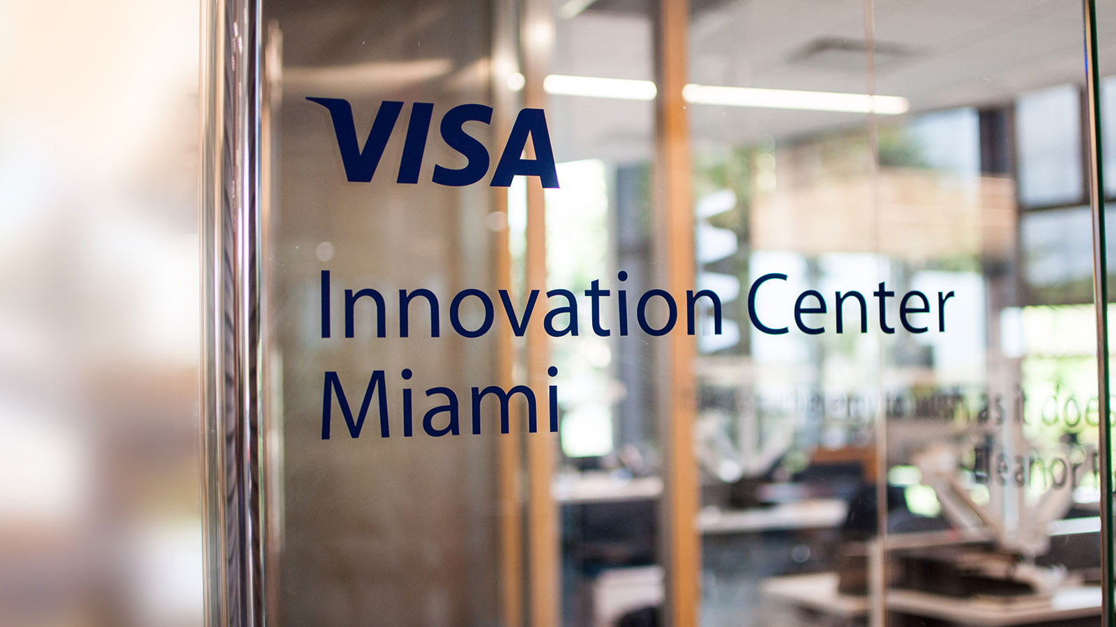 Visa Innovation Center Miami.