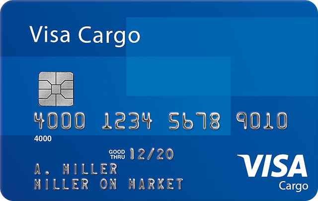 Visa Cargo Credit Card