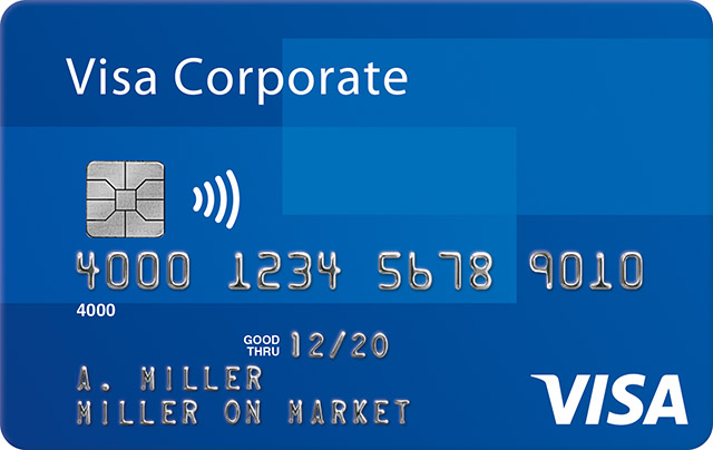 Visa Corporate Signature Card